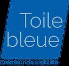 Toile bleue Logo