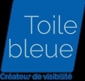 Toile bleue Retina Logo